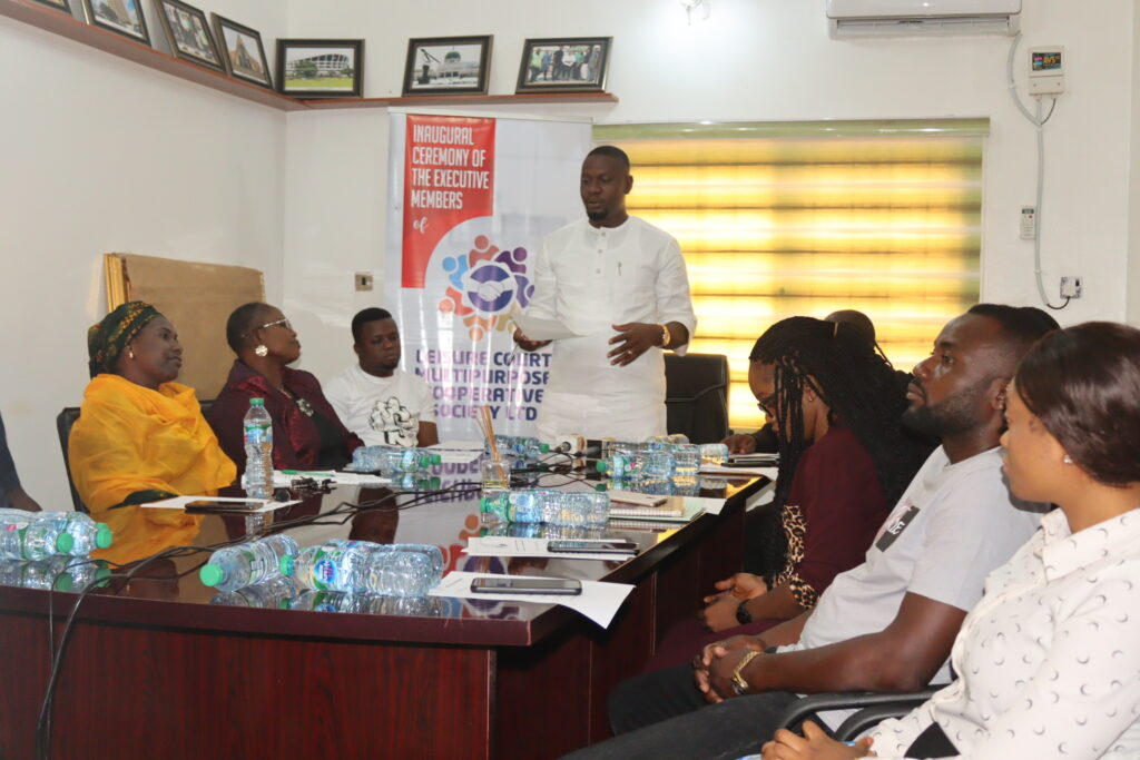 The BOT Chairman addressing stakeholders